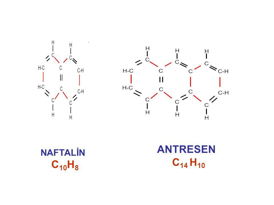 ANTRESEN NAFTALİN C14 H10 C10H8