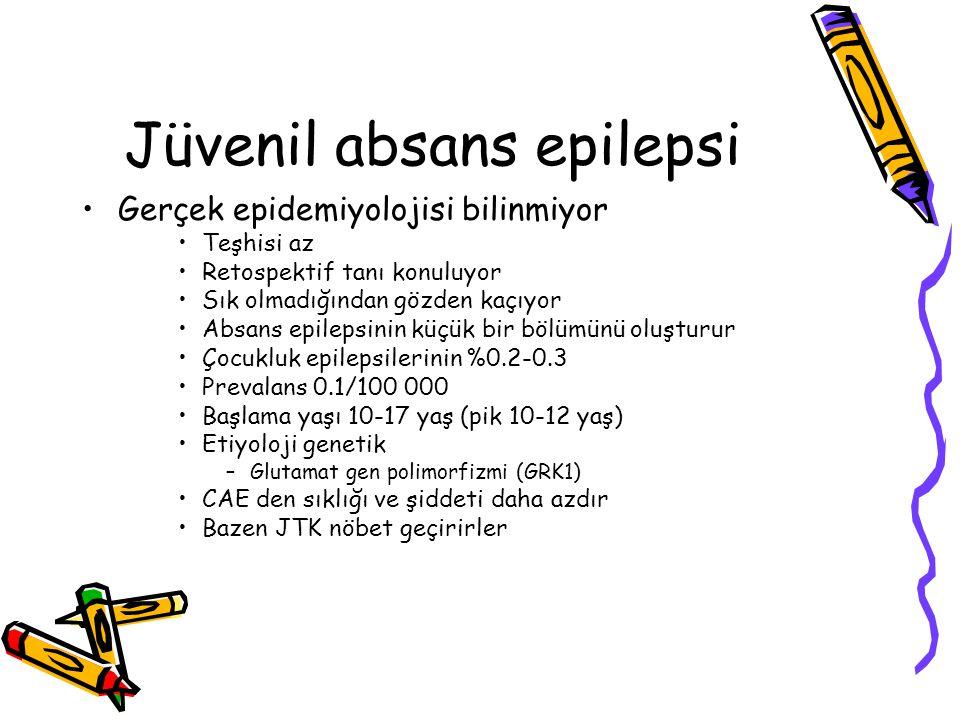 Jüvenil absans epilepsi