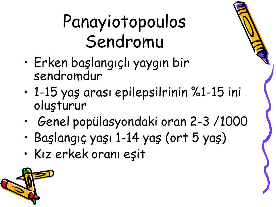 Panayiotopoulos Sendromu