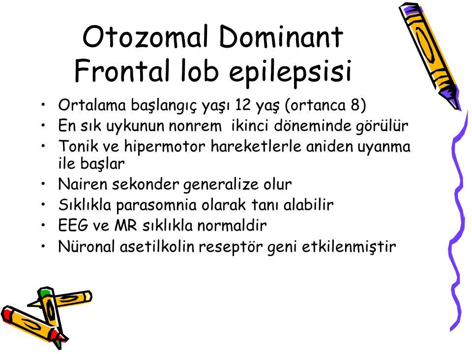 Otozomal Dominant Frontal lob epilepsisi