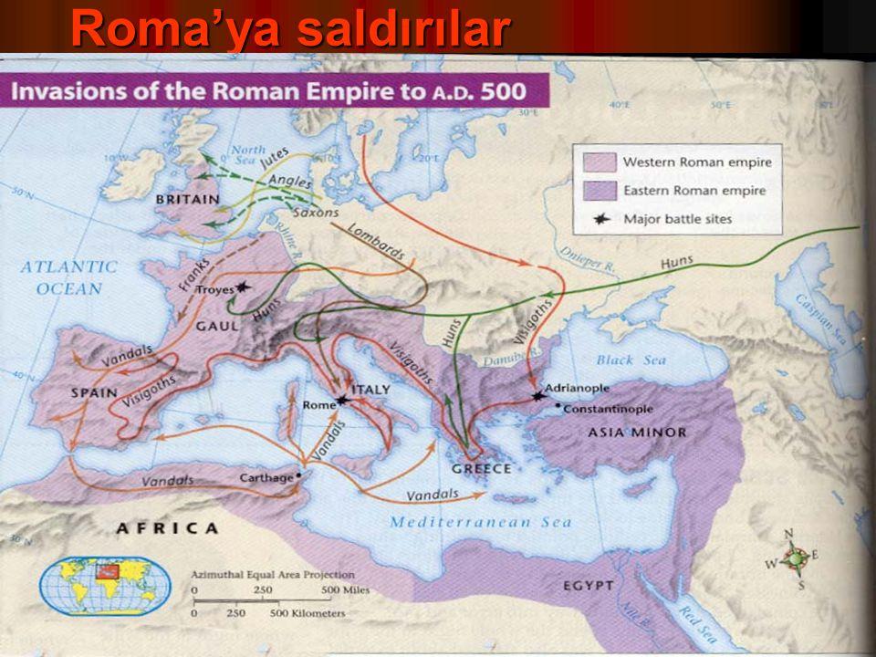 Roma'ya saldırılar