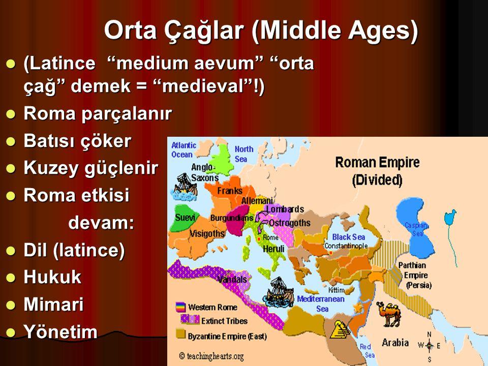 Orta Çağlar (Middle Ages)