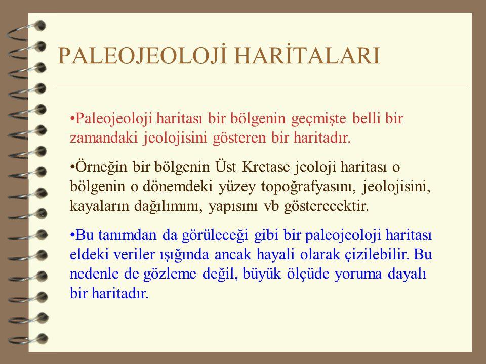 PALEOJEOLOJİ HARİTALARI