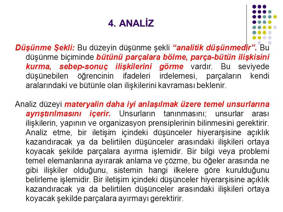 4. ANALİZ