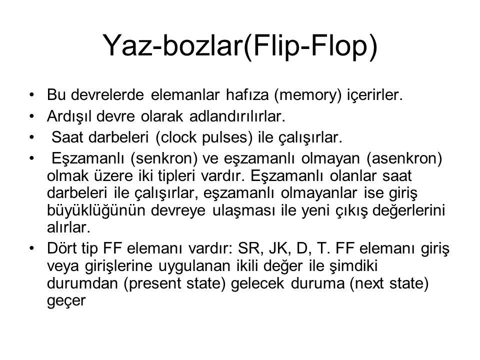 Yaz-bozlar(Flip-Flop)