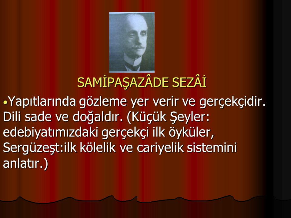 SAMİPAŞAZÂDE SEZÂİ
