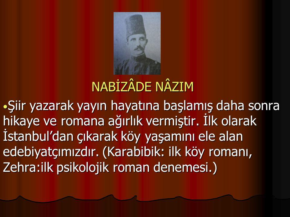 NABİZÂDE NÂZIM