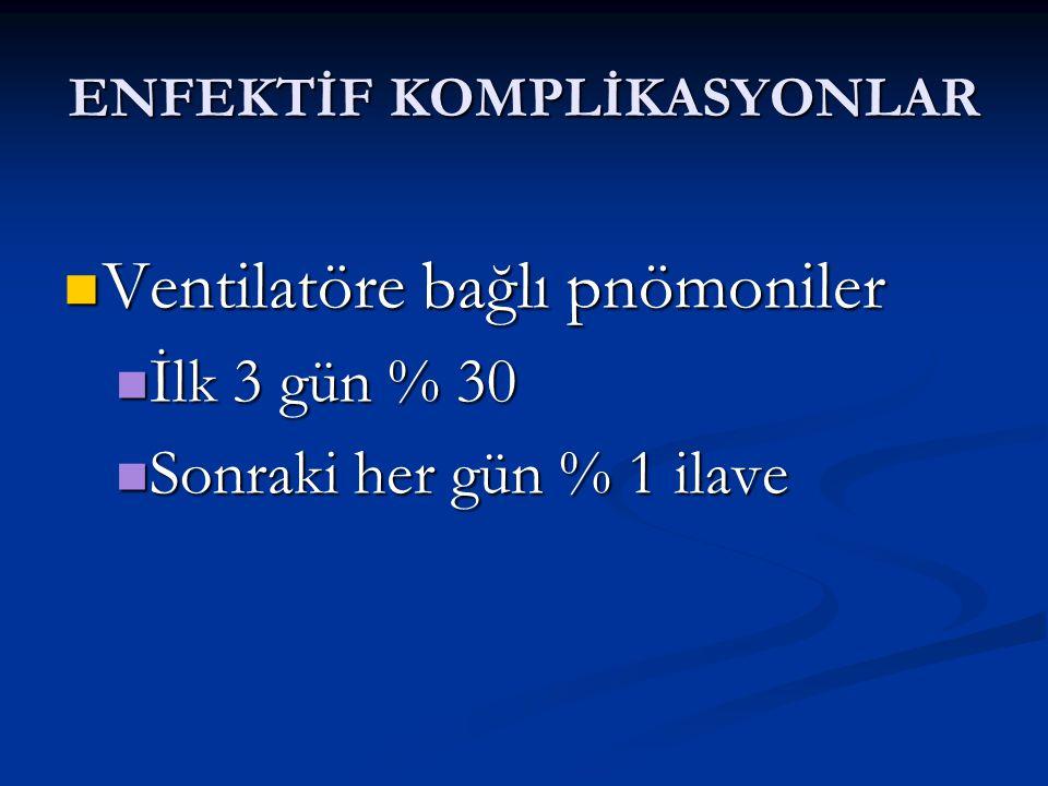 ENFEKTİF KOMPLİKASYONLAR