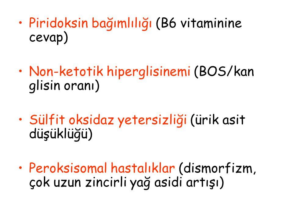 Piridoksin bağımlılığı (B6 vitaminine cevap)