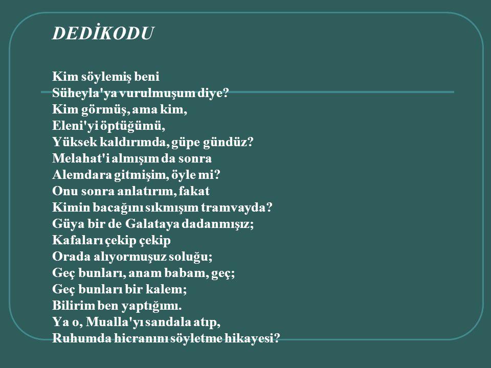 DEDİKODU