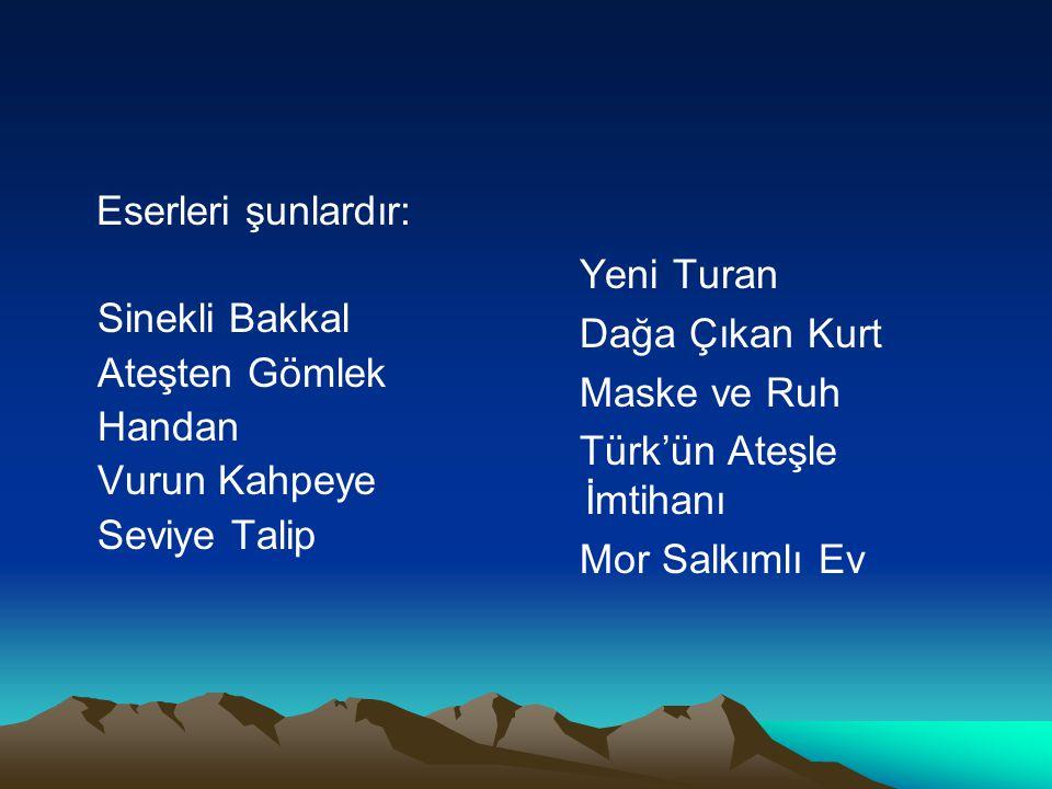 Türk'ün Ateşle İmtihanı Mor Salkımlı Ev