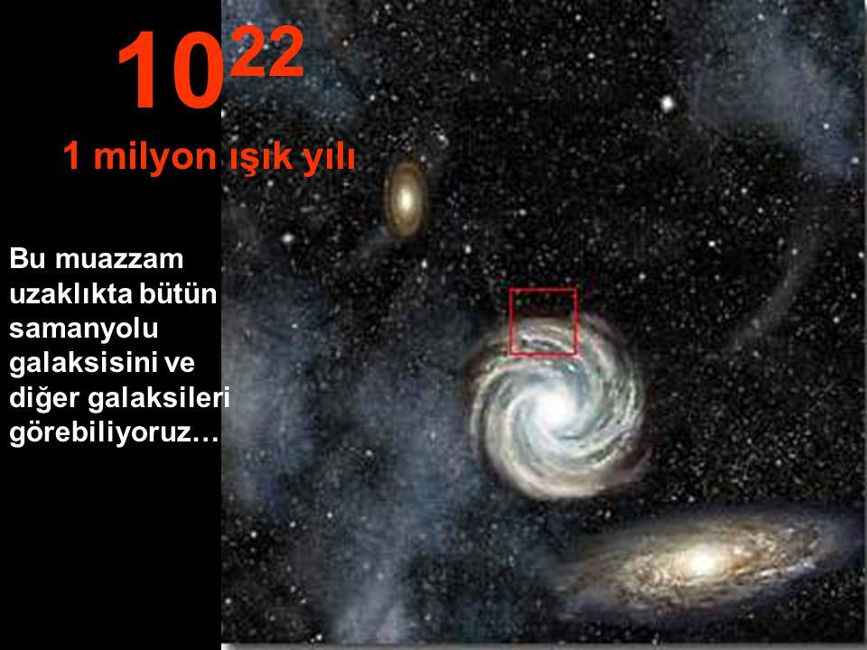 1022 1 milyon ışık yılı.