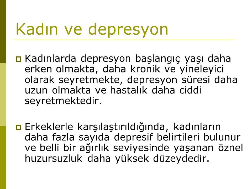 Kadın ve depresyon