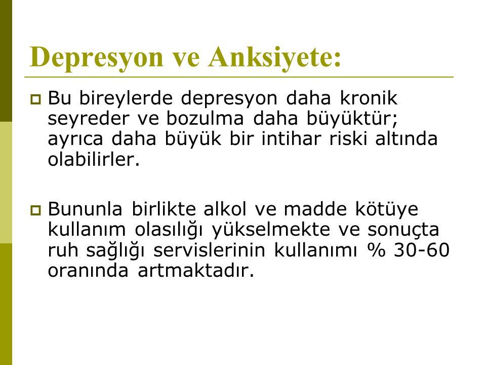 Depresyon ve Anksiyete: