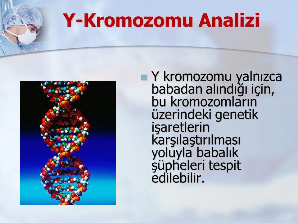 Y-Kromozomu Analizi