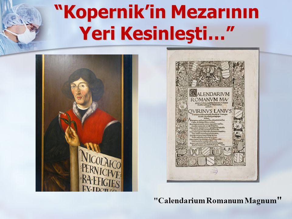 Kopernik'in Mezarının Yeri Kesinleşti…