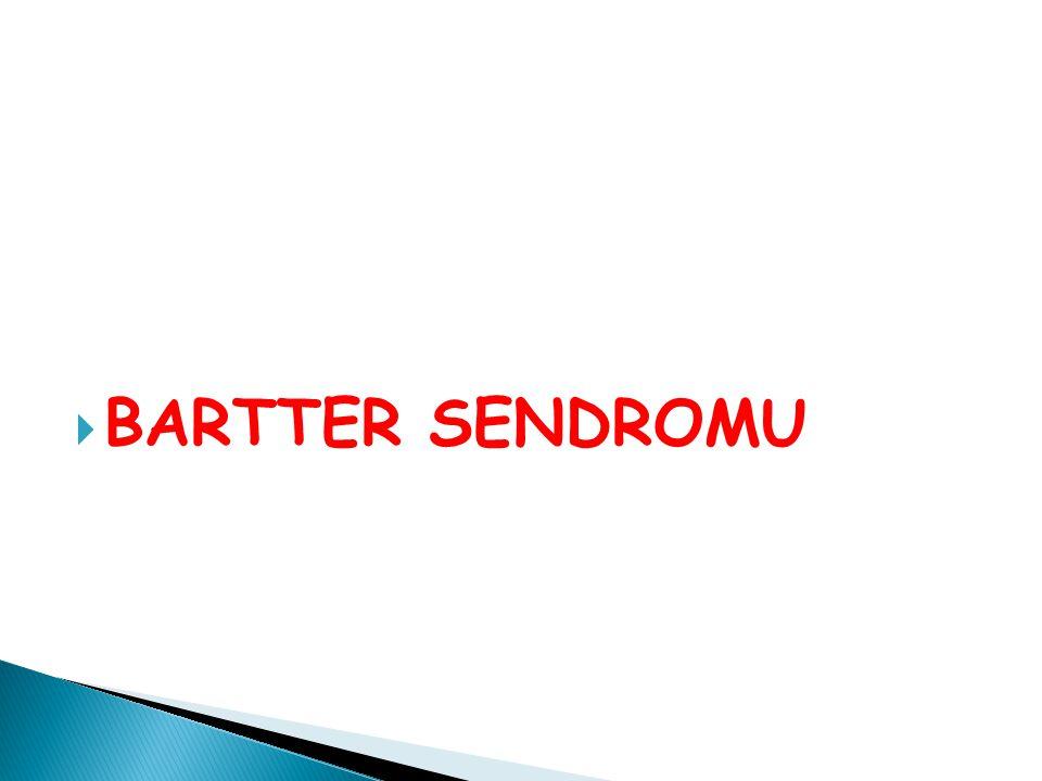 BARTTER SENDROMU