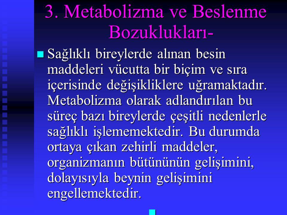 3. Metabolizma ve Beslenme Bozuklukları-