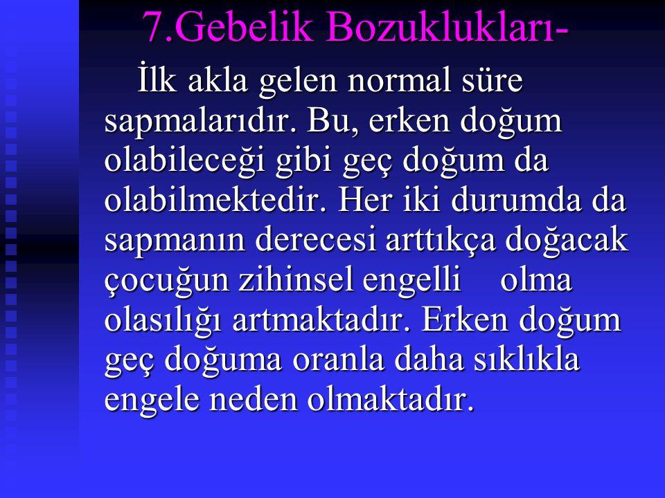 7.Gebelik Bozuklukları-