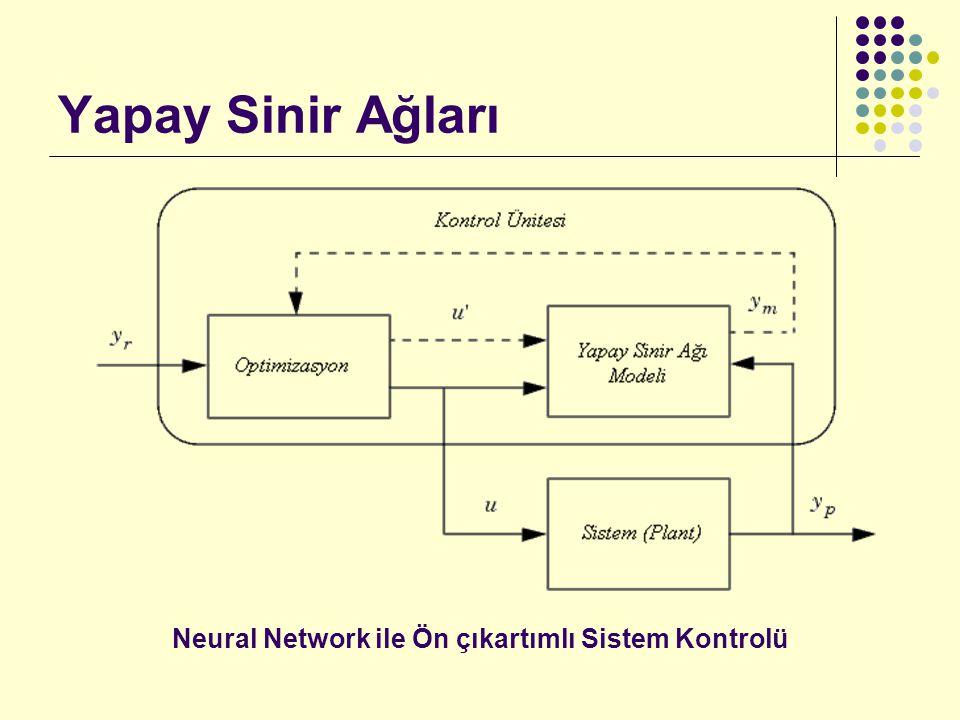 Neural Network ile Ön çıkartımlı Sistem Kontrolü