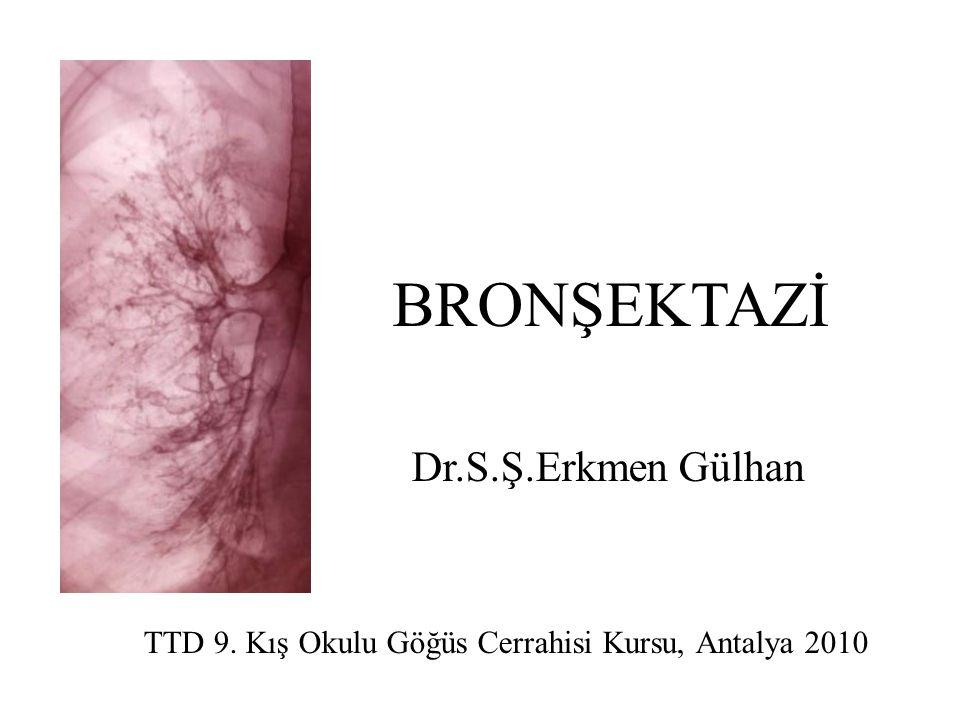 TTD 9. Kış Okulu Göğüs Cerrahisi Kursu, Antalya 2010