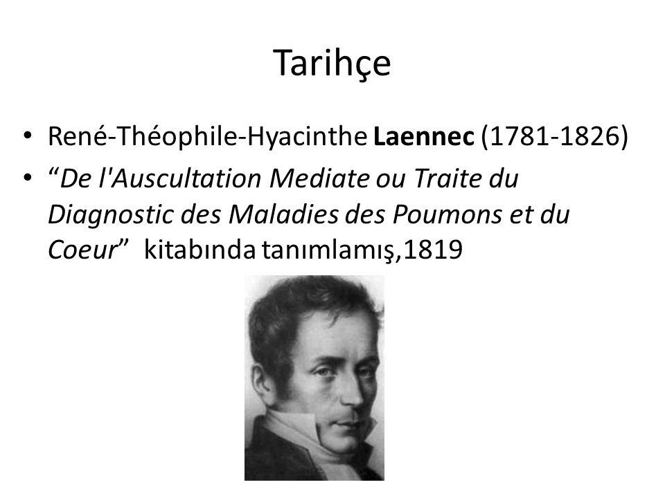Tarihçe René-Théophile-Hyacinthe Laennec (1781-1826)