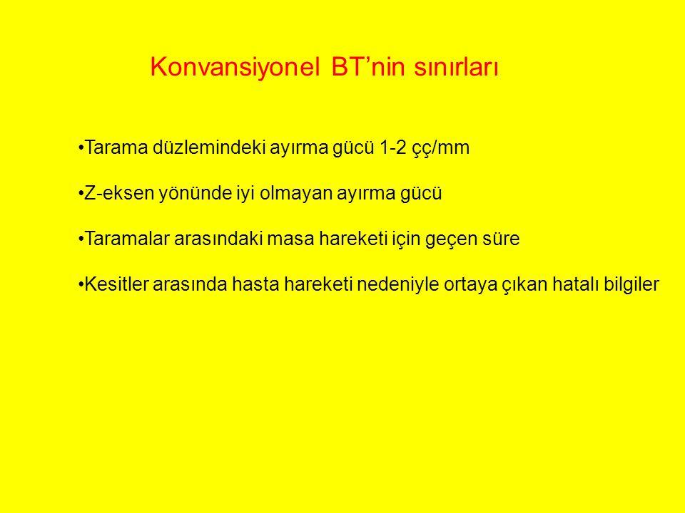 Konvansiyonel BT'nin sınırları