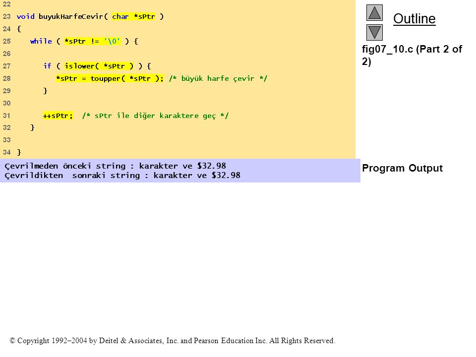 fig07_10.c (Part 2 of 2) Program Output