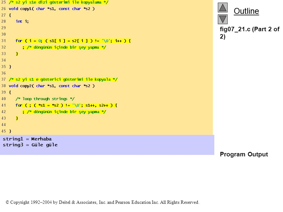 fig07_21.c (Part 2 of 2) Program Output