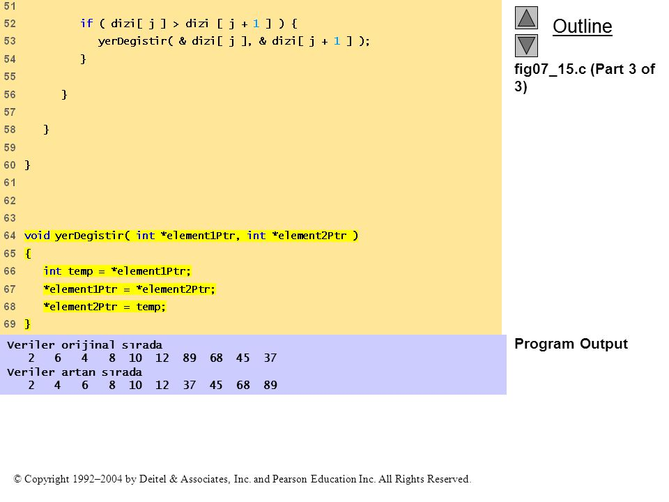 fig07_15.c (Part 3 of 3) Program Output