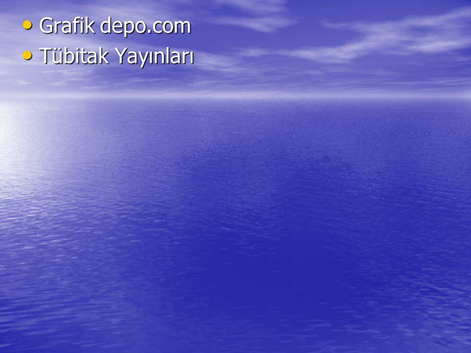 Grafik depo.com Tübitak Yayınları