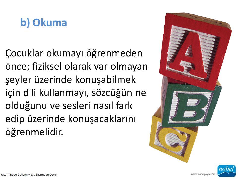 b) Okuma