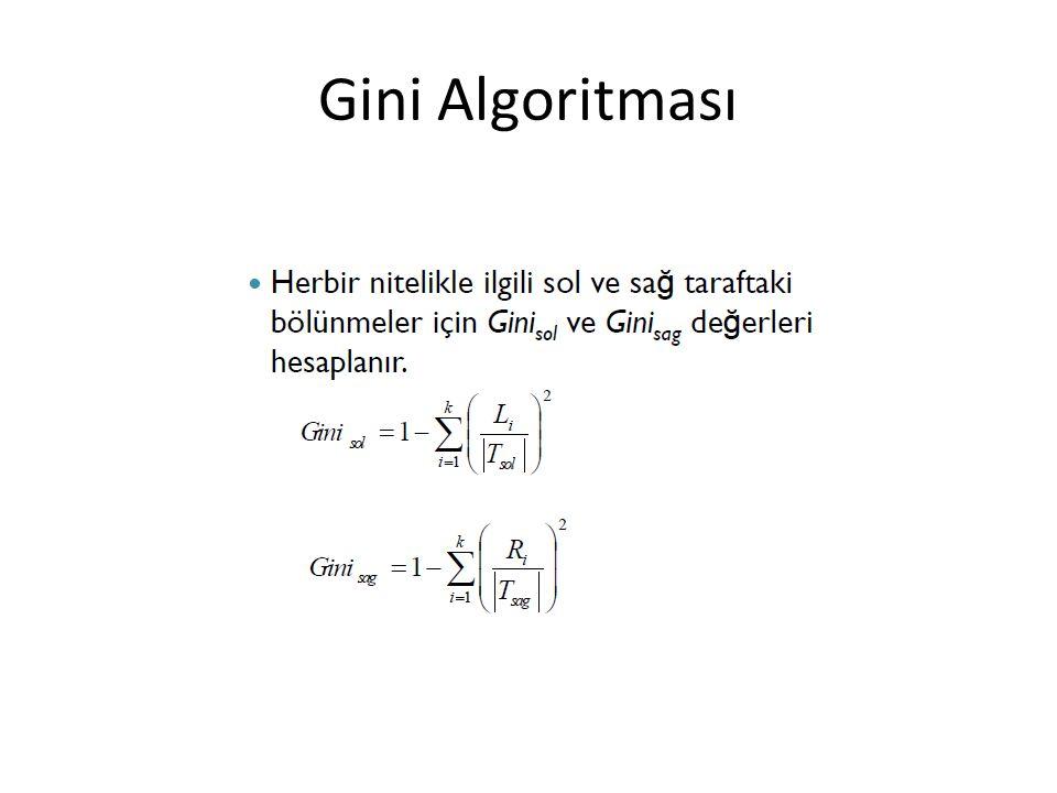 Gini Algoritması