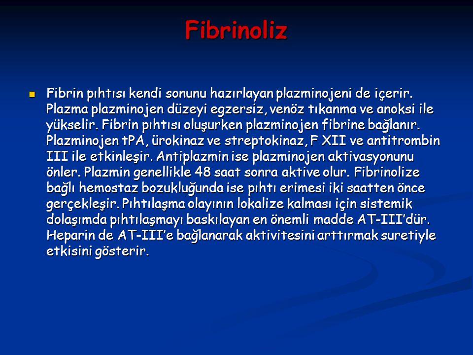 Fibrinoliz