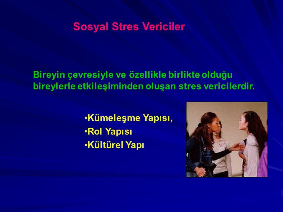 Sosyal Stres Vericiler