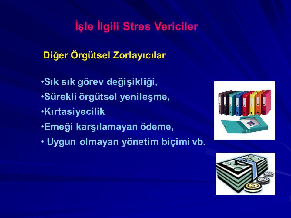 İşle İlgili Stres Vericiler