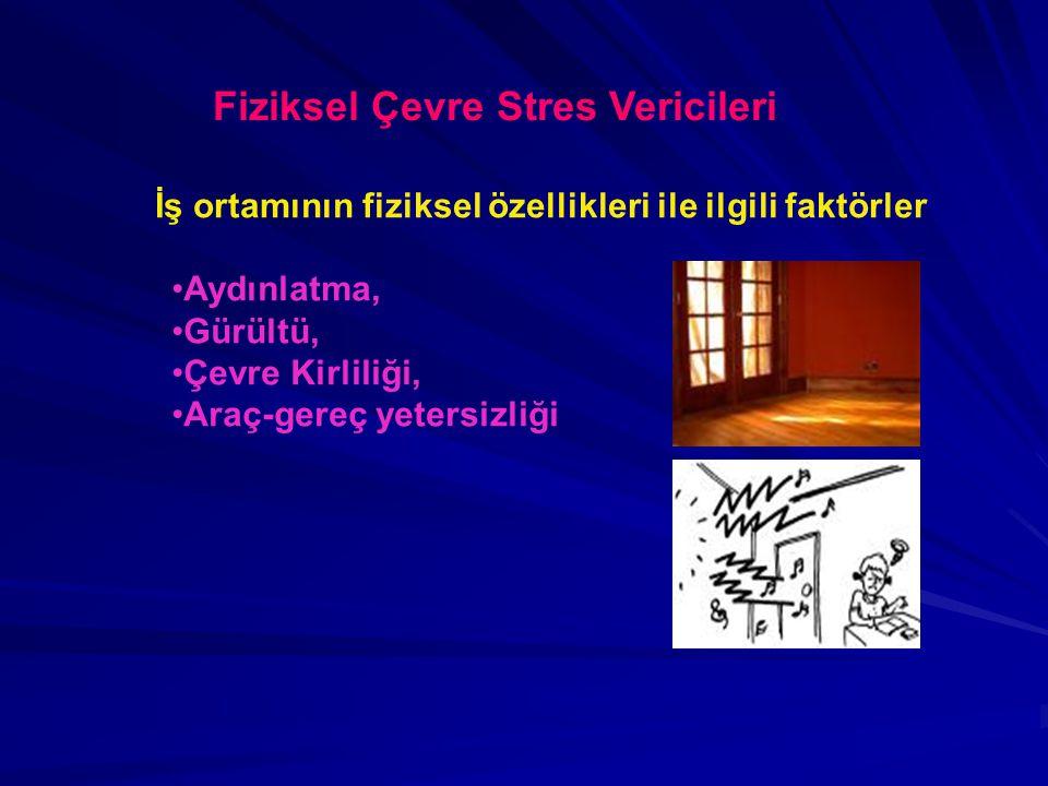 Fiziksel Çevre Stres Vericileri