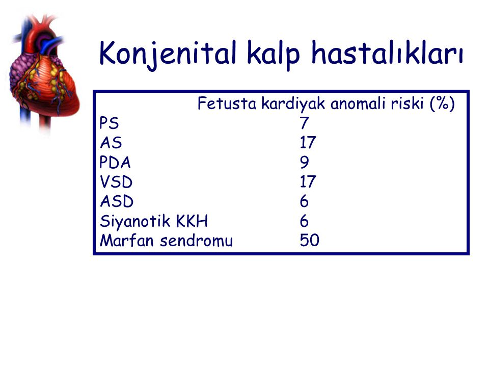 Konjenital kalp hastalıkları