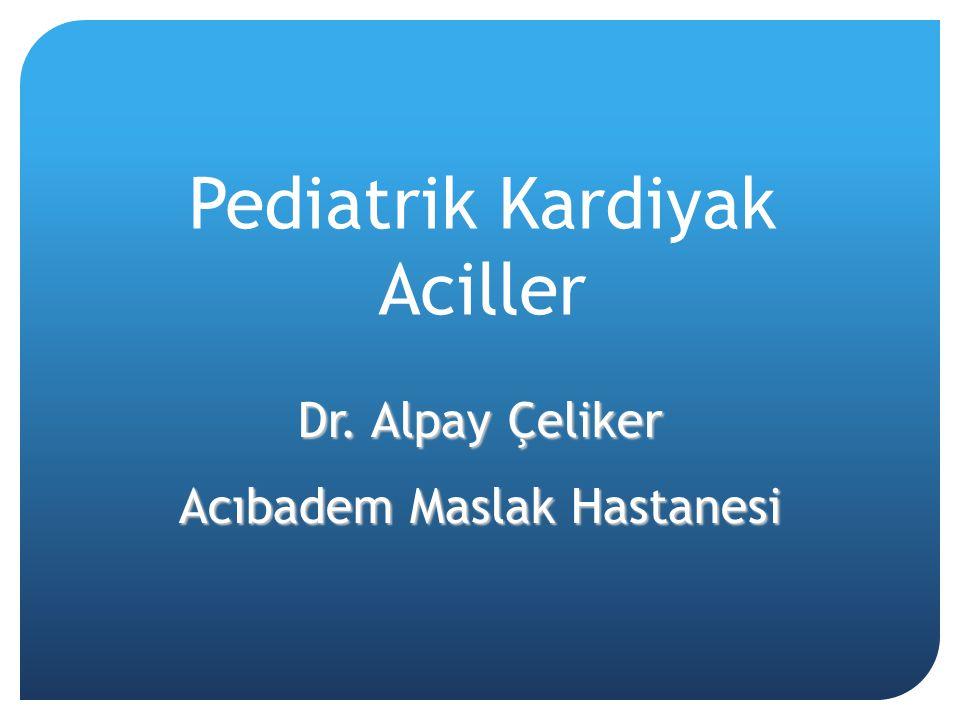 Pediatrik Kardiyak Aciller