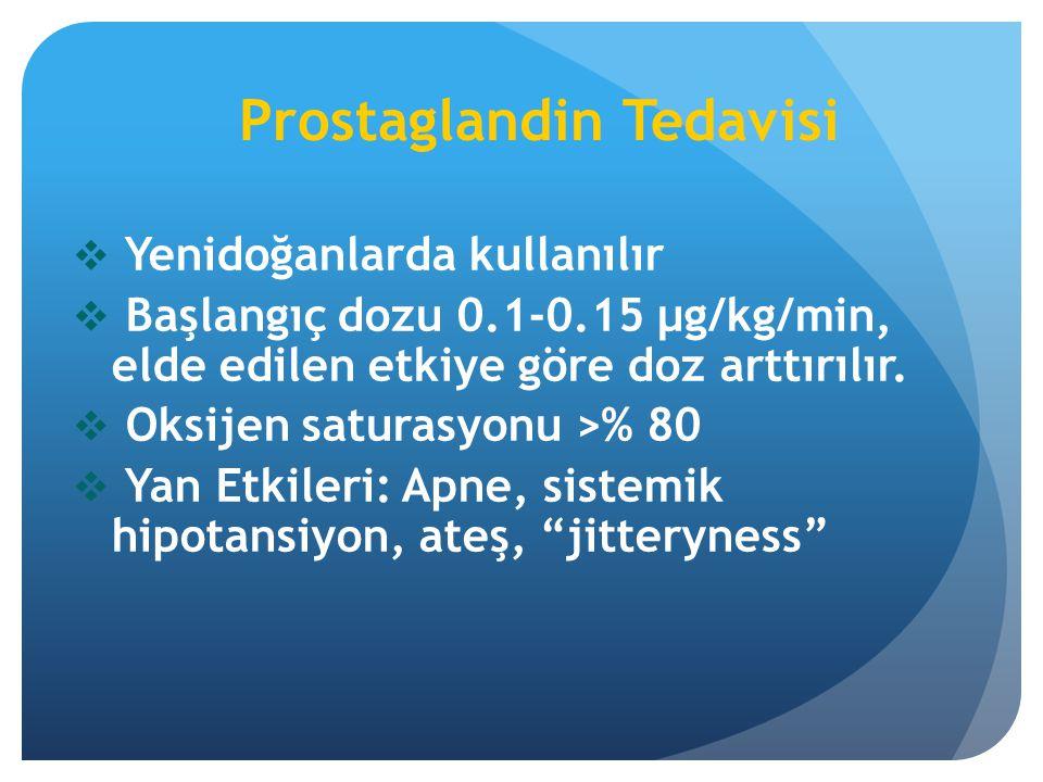 Prostaglandin Tedavisi