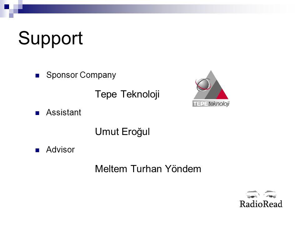 Support Sponsor Company Assistant Advisor Tepe Teknoloji Umut Eroğul
