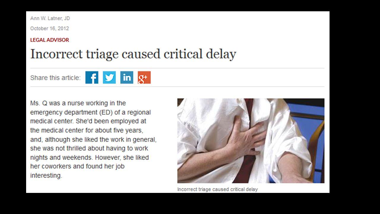 Yaşanmış bir olay, bir acil servisite çalışan bir hemşire