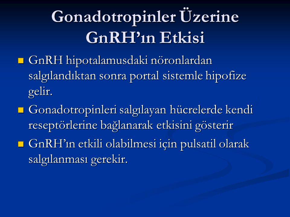 Gonadotropinler Üzerine GnRH'ın Etkisi