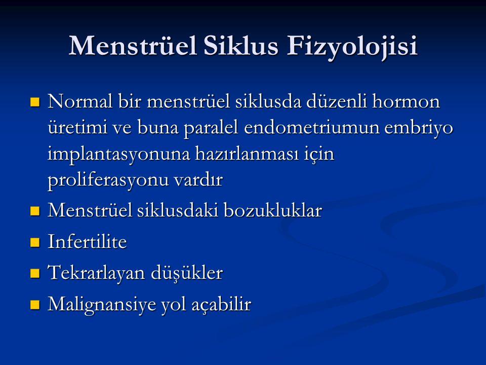 Menstrüel Siklus Fizyolojisi