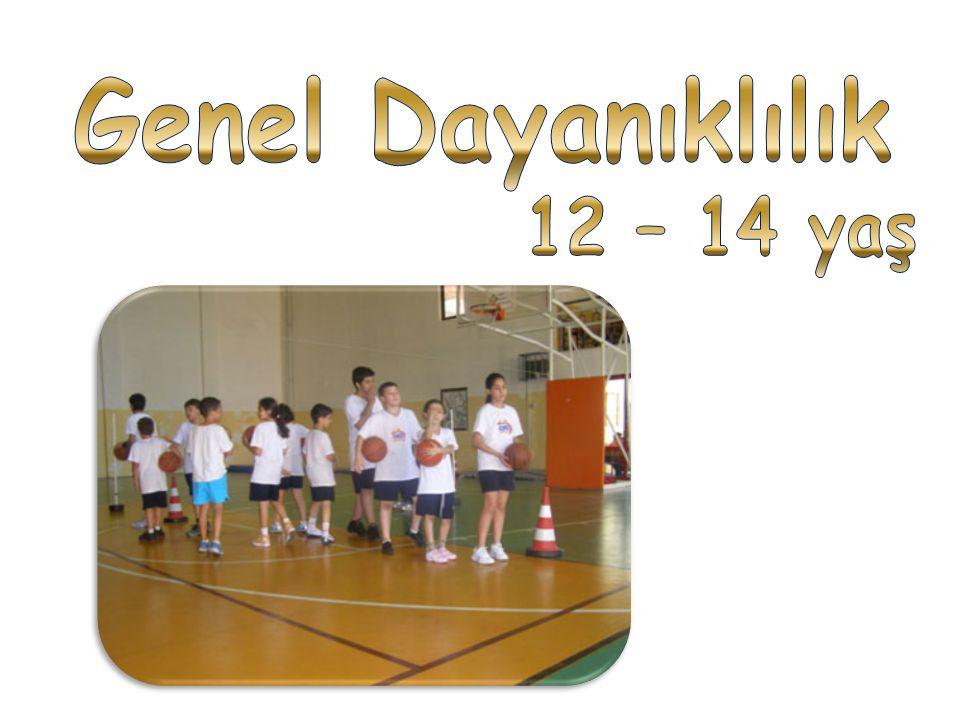Genel Dayanıklılık 12 – 14 yaş