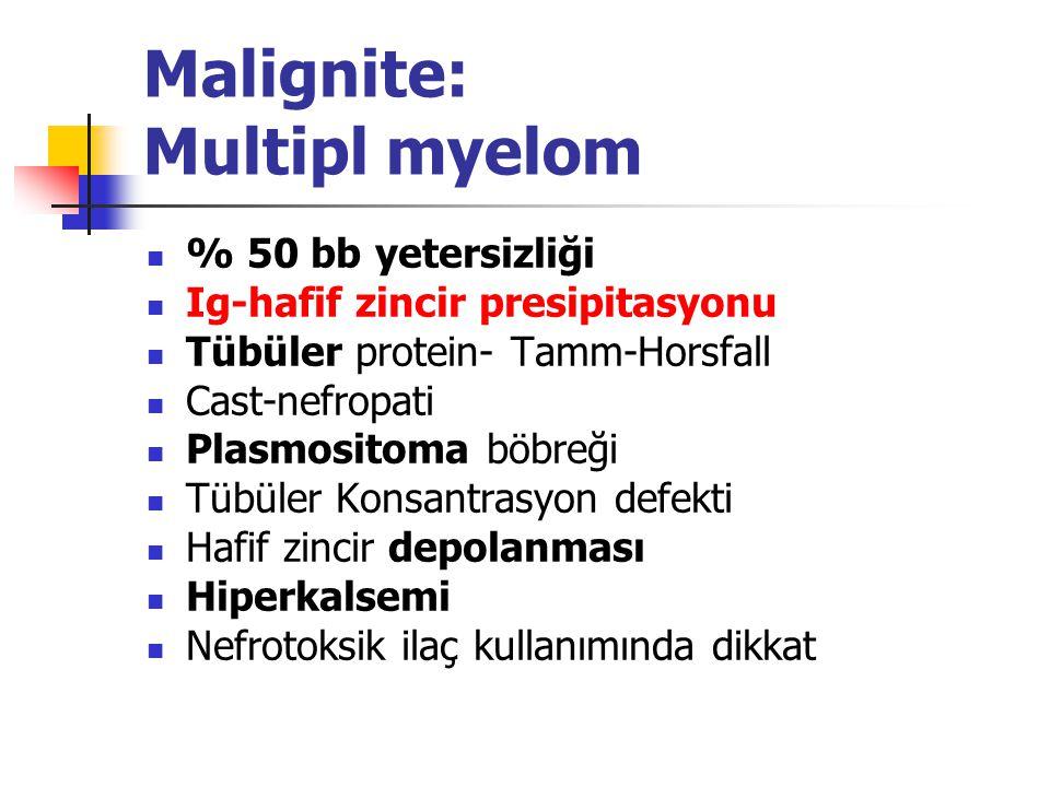 Malignite: Multipl myelom