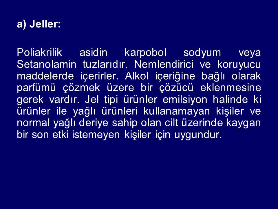 a) Jeller: