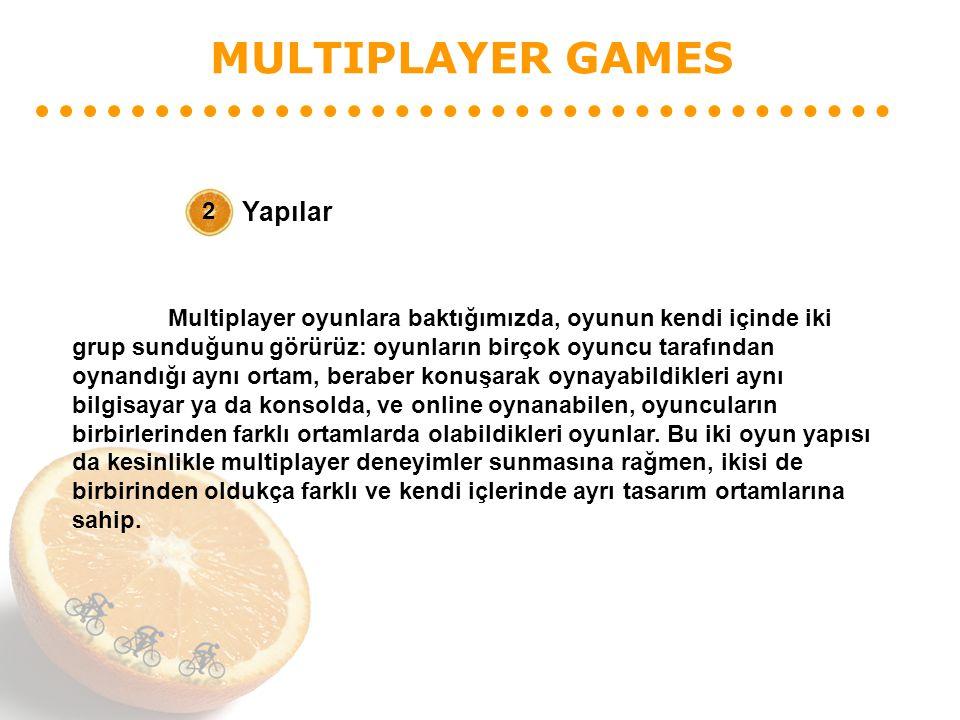 MULTIPLAYER GAMES Yapılar 2