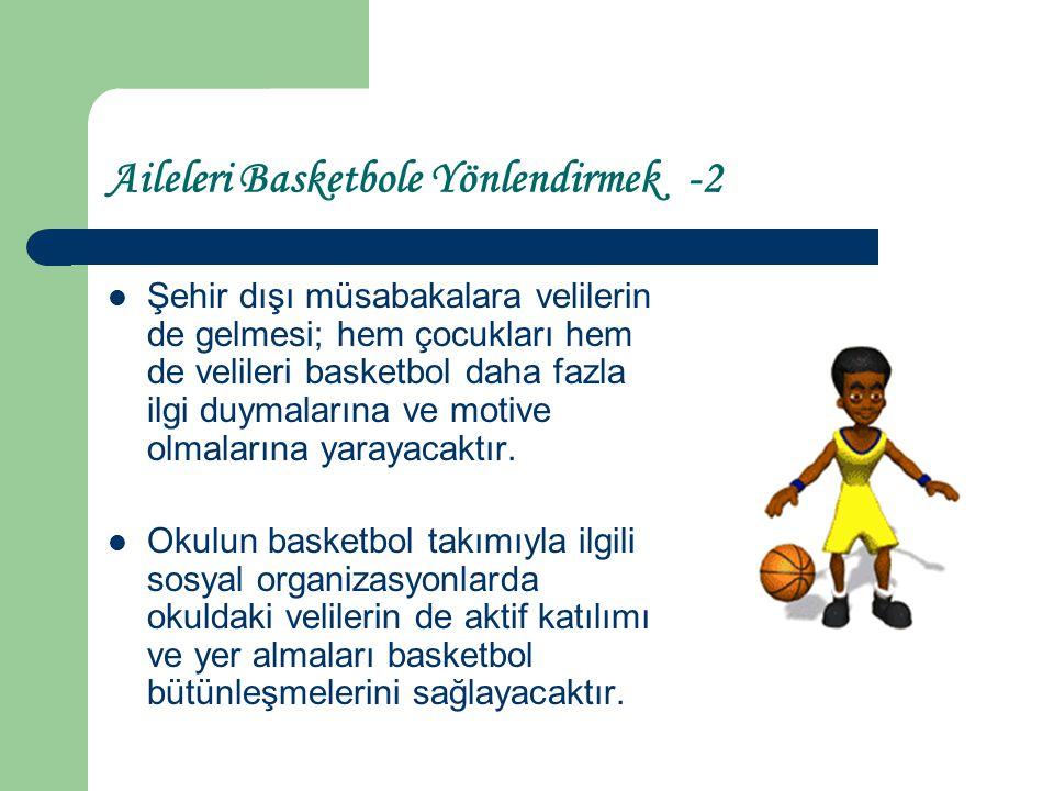 Aileleri Basketbole Yönlendirmek -2