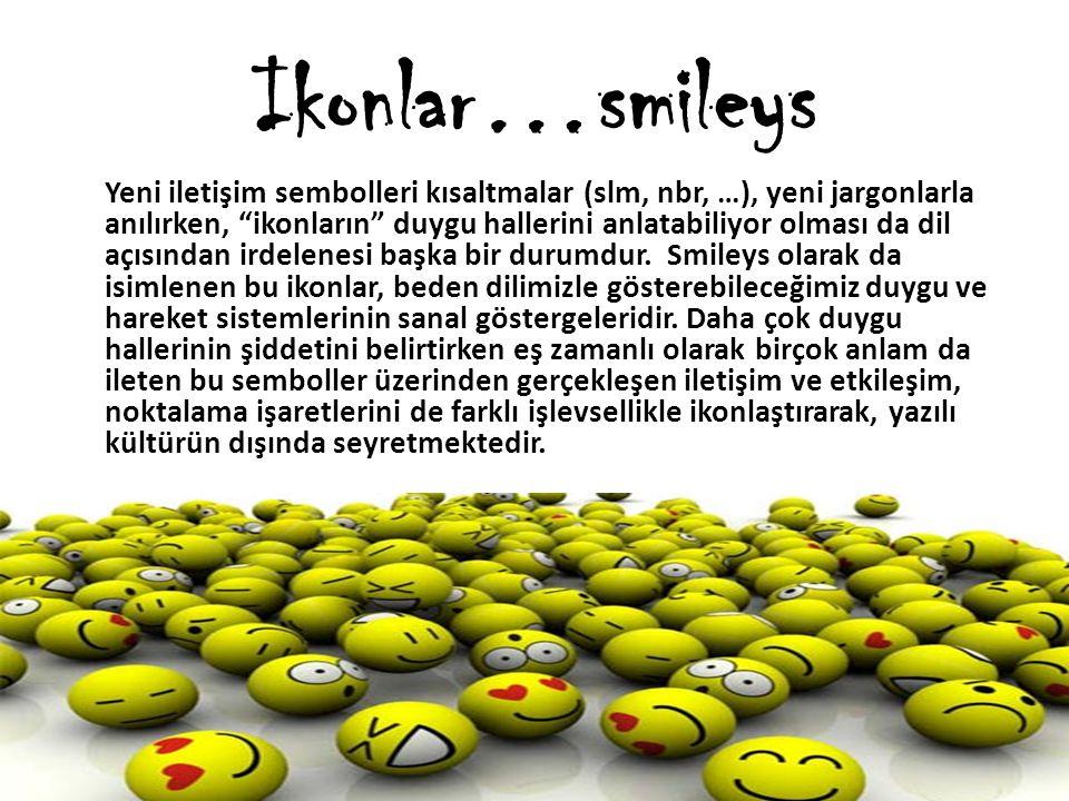 Ikonlar…smileys